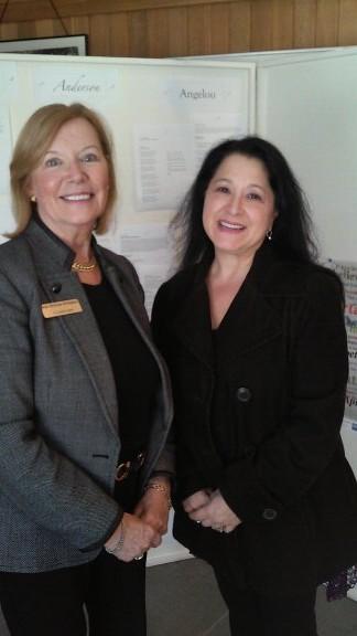 Paula at the WWA with Cynthia Shor