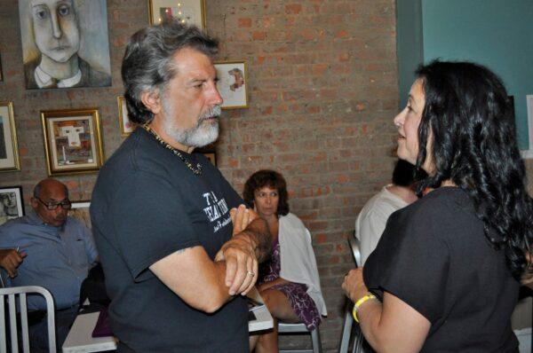 Paula Curci and Robert Savino,Poet Laureate Of Suffolk County 2016